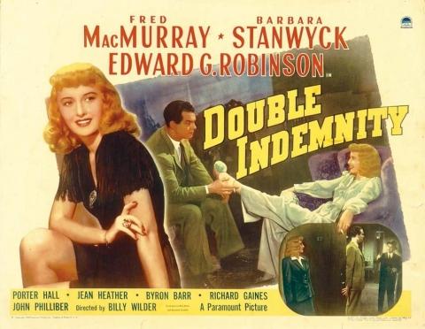плакат фильма биллборды Двойная страховка