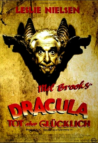 плакат фильма постер Дракула: мертвый, но довольный