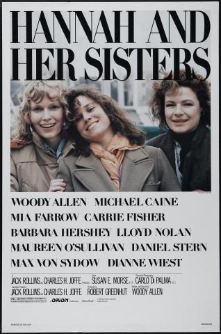 плакат фильма постер Ханна и ее сестры