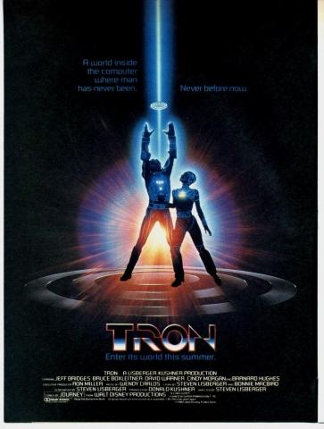 плакат фильма постер Трон