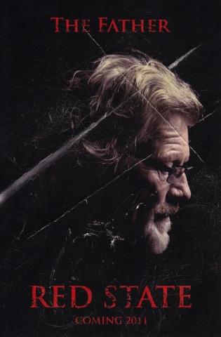 плакат фильма характер-постер Красный штат