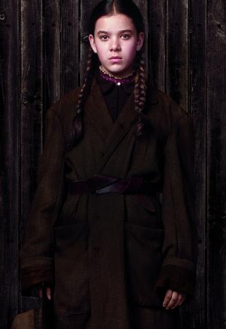 плакат фильма характер-постер textless Железная хватка