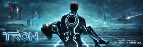 плакат фильма баннер Трон: Наследие