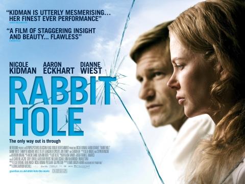 плакат фильма биллборды Кроличья нора