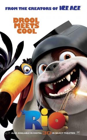 плакат фильма характер-постер Рио