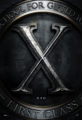 плакат фильма тизер Люди Икс: Первый класс