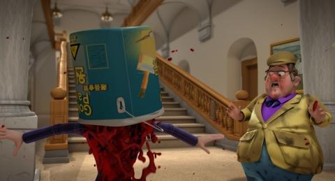 кадр №66021 из фильма Балбесы 3D