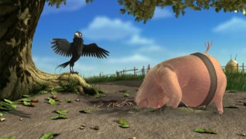 кадр №66394 из фильма Безымянный трехмерный мультфильм студии «Мельница»