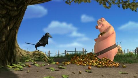 кадр №66397 из фильма Безымянный трехмерный мультфильм студии «Мельница»