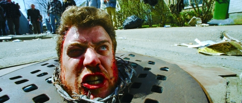 кадр №66725 из фильма Бомж с дробовиком