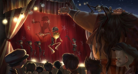 кадр №67235 из фильма Пиноккио*