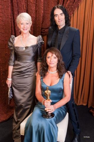 портреты Оскар 2011 Хелен Миррен, Рассел Брэнд, Сюзанна Бир,