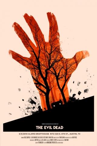 плакат фильма арт-постеры Зловещие мертвецы