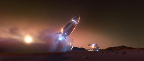кадр №69260 из фильма Тайна Красной планеты