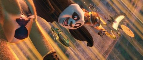 кадр №69940 из фильма Кунг-фу панда 2