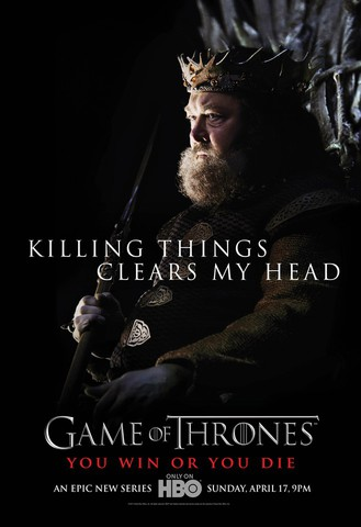 плакат фильма характер-постер Игра престолов