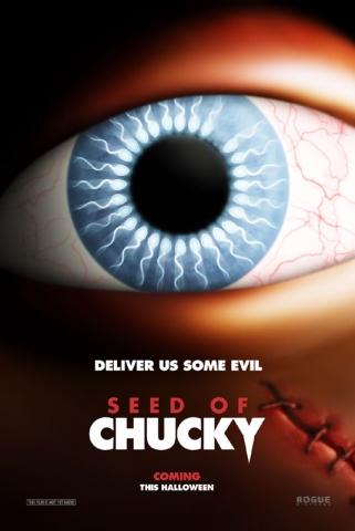 плакат фильма тизер Потомство Чаки
