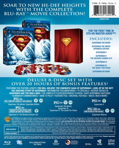 плакат фильма AD Возвращение Супермена