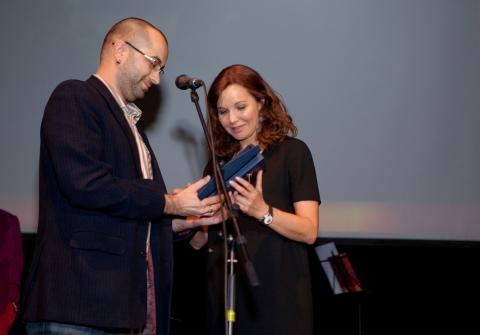 Вручение премии «Жорж» за 2010 год Татьяна Друбич,