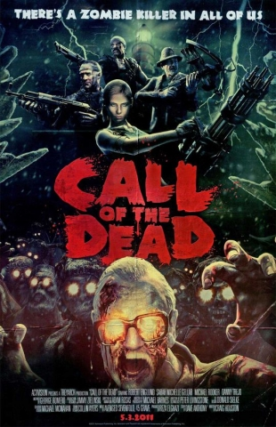 плакат фильма постер «Зов мертвых» (Call of the Dead)