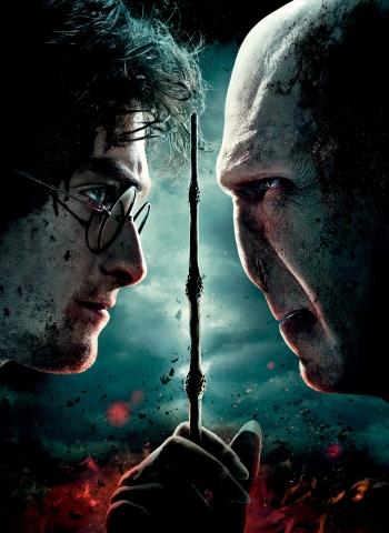 плакат фильма постер textless Гарри Поттер и Дары Смерти: Часть вторая