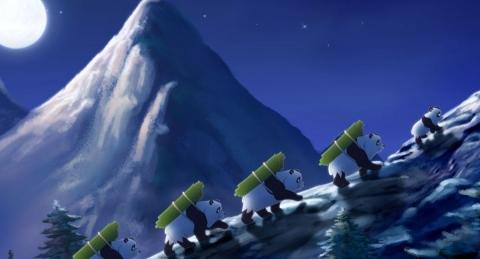 кадр №74916 из фильма Смелый большой панда