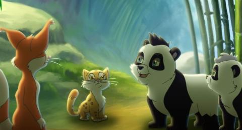 кадр №74917 из фильма Смелый большой панда