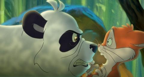 кадр №74918 из фильма Смелый большой панда