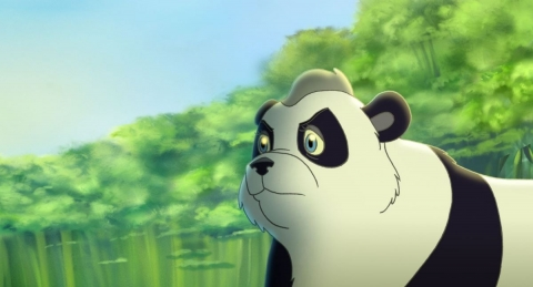 кадр №74921 из фильма Смелый большой панда