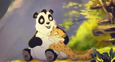 кадр №74923 из фильма Смелый большой панда