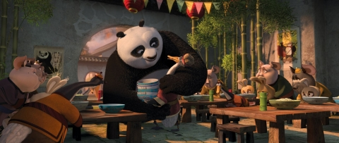 кадр №75820 из фильма Кунг-фу панда 2