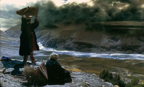 кадры из фильма Учение Миларепы