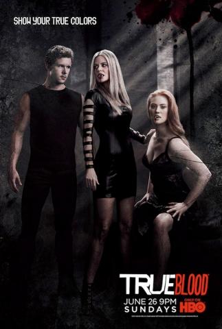 плакат фильма постер Настоящая кровь