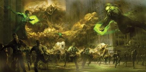 концепт-арты Зеленый Фонарь