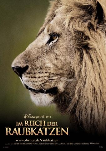 плакат фильма постер Африканские кошки*