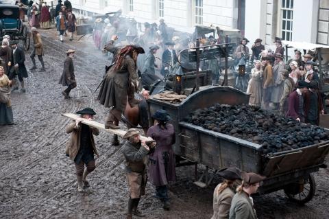 кадры из фильма Пираты Карибского моря: На странных берегах Джонни Депп,
