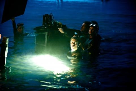 со съемок Пираты Карибского моря: На странных берегах
