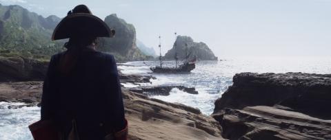 кадры из фильма Пираты Карибского моря: На странных берегах Джеффри Раш,