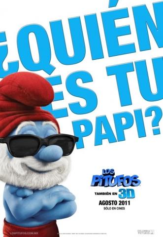 плакат фильма характер-постер Смурфики