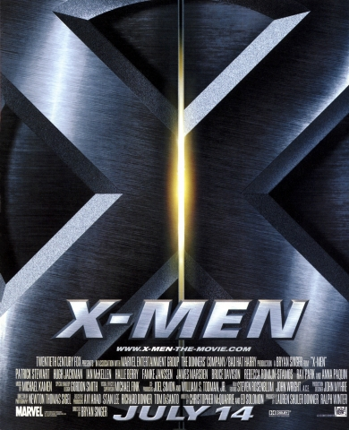 плакат фильма тизер Люди Икс