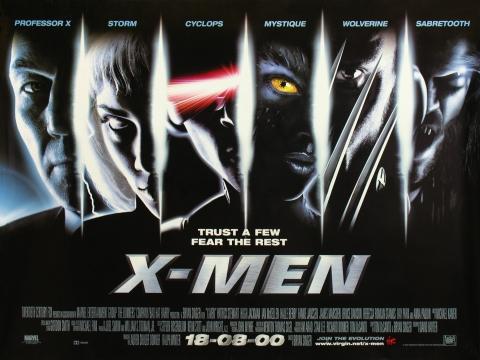 плакат фильма баннер Люди Икс