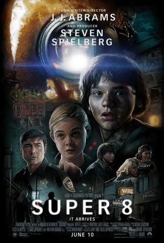 плакат фильма постер Супер 8