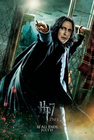плакат фильма характер-постер Гарри Поттер и Дары Смерти: Часть вторая