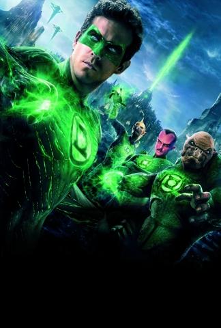плакат фильма постер textless Зеленый Фонарь