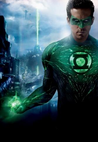плакат фильма характер-постер textless Зеленый Фонарь