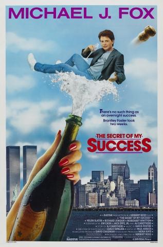 плакат фильма постер Секрет моего успеха