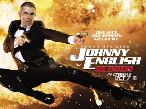 плакат фильма биллборды Агент Джонни Инглиш: Перезагрузка