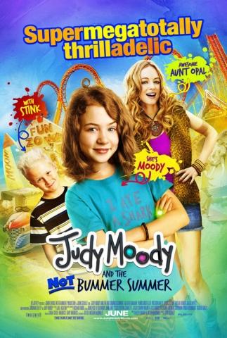 плакат фильма постер Джуди Муди и веселое лето*
