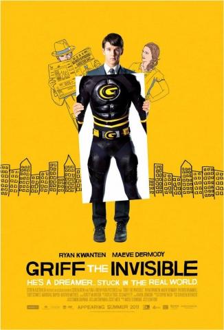 плакат фильма постер Грифф-невидимка*