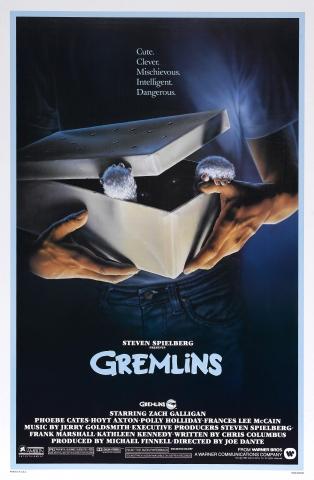 плакат фильма тизер Гремлины